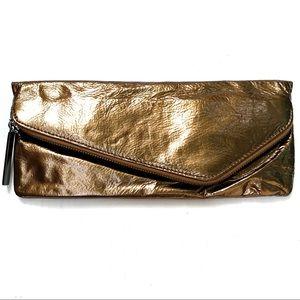 🌸🌵🌼Hobo International | Bronze Metallic Clutch